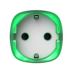 Priza smart wireless Ajax Socket WH, 2.5 kW, indicator consum LED, 1000 m imagine