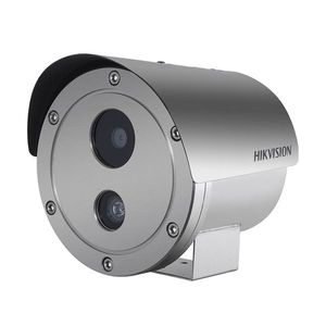 Camera supraveghere IP exterior Hikvision DS-2XE6222F-IS, 2 MP, IR 30 m, 4 mm, ATEX, IECEx, PoE imagine