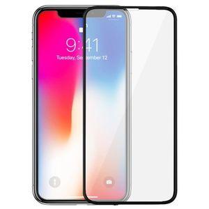 Folie Protectie Sticla Securizata Zmeurino Full Body 3D Curved, fata/spate, pentru Apple iPhone X (Alb/Transparent) imagine