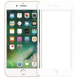 Folie Protectie Sticla Securizata Zmeurino Full Body 3D Curved pentru Apple iPhone 7, iPhone 8, iPhone SE 2020 (Alb) imagine