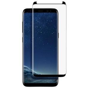 Folie Protectie Sticla Securizata Zmeurino Full Body 3D Curved pentru Samsung Galaxy S8 (Negru) imagine