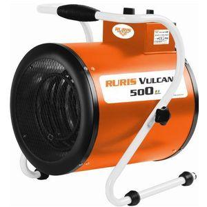Aeroterma electrica Ruris Vulcano 500, 5000 W, 3 trepte de putere imagine