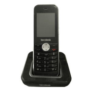 Telefon Fix Tecdesk Connect 60 ttdcon60n (Negru) imagine