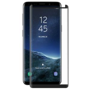 Folie Protectie Sticla Securizata Full Body 3D Zmeurino ZMVIP_SGNOTE9 pentru Samsung Galaxy Note 9 (Transparent/Negru) imagine