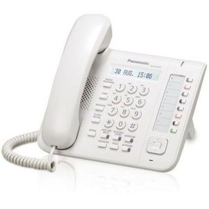 Telefon digital proprietar Panasonic KX-DT521X (Alb) imagine
