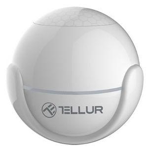 Senzor de miscare WiFi Tellur TLL331121, PIR (Alb) imagine