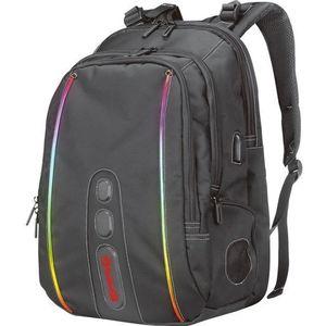 Rucsac Laptop cu Iluminare Marvo BA-02, 15.6inch (Negru) imagine