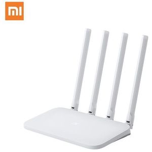 Router Wireless Xiaomi 4C, 300 Mbps, 4 Antene externe (Alb) imagine