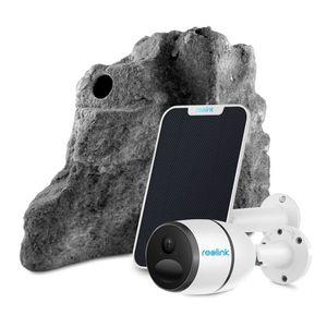 Camera supraveghere ascunsa in piatra decorativa Reolink RLK-GO-PANEL-P-G, 2 MP, IR 10 m, 7800 mAh, GSM 3G/4G + panou solar imagine