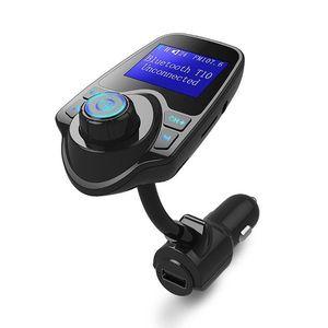 Modulator FM Techstar® T10, Wireless, Bluetooth 4.2, Microfon Integrat, Quick Charge, Afisare Voltaj, Slot MicroSD, AUX imagine