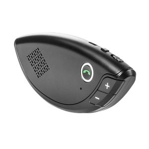 Car Kit Bluetooth Techstar® E08, Wireless, Bluetooth 4.1, MultiPoint, Microfon Integrat, Acumulator, Difuzor 2W imagine