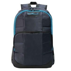 Rucsac Laptop Dicallo LLB9962R16L, 16inch (Negru/Albastru) imagine