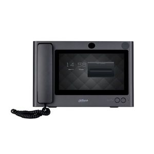 Videointerfon de interior IP Dahua DHI-VTS5340B, 10 inch, aparent, DC 12V imagine