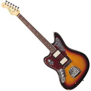 Fender Kurt Cobain Jaguar RW LH 3-Tone Sunburst imagine