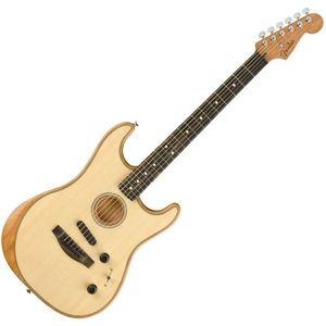 Fender American Acoustasonic Stratocaster Chitară electro-acustică imagine