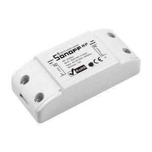 Modul de comanda WiFi SONOFF BASIC RFR2, 433.92 MHz, 10A, 2200W imagine