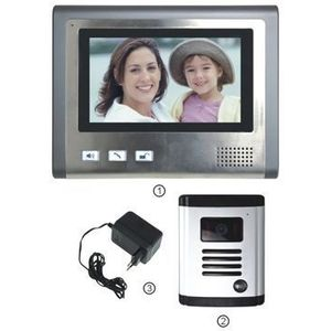 Interfon video PNI DF-926, Ecran LCD de 7 inch imagine