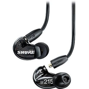 Shure SE215 Sound Isolating Earphones Black imagine