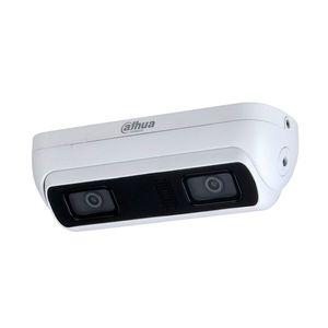 Camera supraveghere IP Dual Lens WizMind Dahua IPC-HDW8341X-3D-0280B-S2, 3MP, IR 20 m, 2.8 mm, microfon imagine