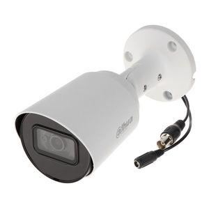 Camera supraveghere exterior Dahua HAC-HFW1800T-A-0280B, 4K, IR 30 m, 2.8 mm, microfon imagine