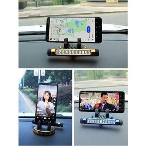 Suportul de afisare numar cu stand telefon pentru bordul auto+cadou imagine