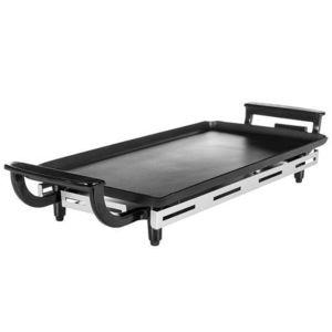 Gratar electric Princess Table Chef Economy 0110220901500, 1800 W, 44 x 23 cm (Negru/Inox) imagine