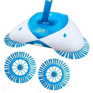Matura Manuala Rotativa, 3 in 1, Hurricane Spin Broom, 360 Grade imagine