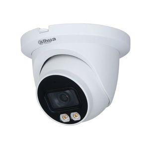 Camera supraveghere IP Dome Full Color WizSense IPC-HDW3249TM-AS-LED-0280B, 2 MP, 2.8 mm, lumina alba, microfon, slot card imagine