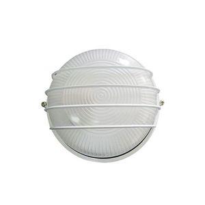 Lampa de iluminat cu gratar pentru tavan Genway DL11-004, 100 W, 15 cm imagine