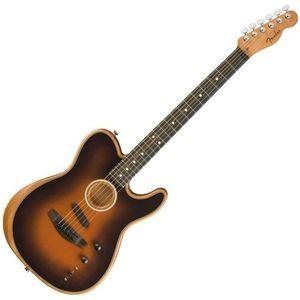 Fender American Acoustasonic Telecaster Chitară electro-acustică imagine
