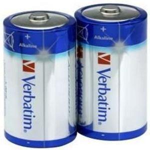 Baterii Alkaline Verbatim 49923, 2 buc imagine