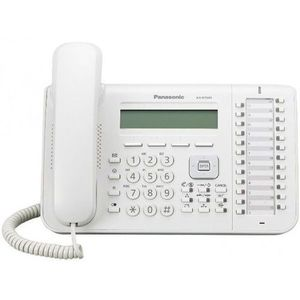 Telefon digital proprietar Panasonic KX-DT543X (Alb) imagine