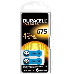 Baterie Duracell pentru aparat auditiv DA675, 6buc imagine