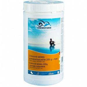 Tablete de clor Chemoform solubile lent - 1 kg imagine