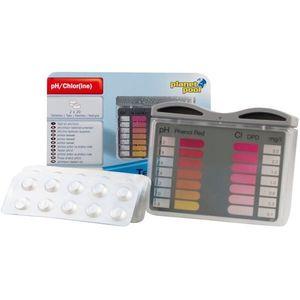 Tester pentru măsurare pH/Cl + 2x20 tablete imagine