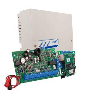 Centrala alarma antiefractie Cerber C816 cu comunicator IP/GPRS si carcasa cu traf. 2 partitii, 8 zone, 45 utilizatori imagine