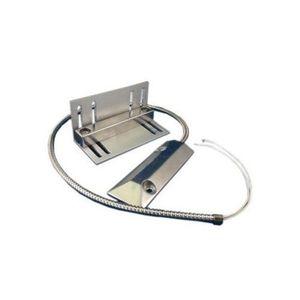 Contact magnetic industrial Aleph PS-2023, metalic, placute rodiu imagine