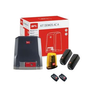 Kit automatizare poarta culisanta BFT DEIMOS AC KIT A600, 600 Kg, 230 V, limitator electromecanic imagine