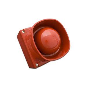 Sirena de incendiu adresabila de exterior cu flash FireClass FC410LPSY, 103 dB, izolator, IP65 imagine