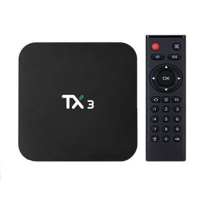 Mini PC TV Box TX3, Android 9, 8K, 2GB + 16 GB ROM, Procesor Quad Core, Wi-Fi, Bluetooth, HDMI, Ethernet imagine