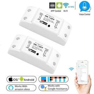 Intrerupator Smart Techstar® KG16, Wireless 2, 4GHz, Smart Home, Google Home. Amazon Echo, Alexa, IFTTT imagine