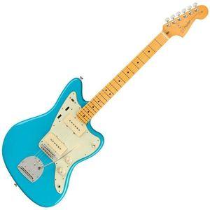 Fender American Professional II Jazzmaster MN Albastru Miami imagine