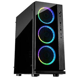 Carcasa Inter-Tech W-III RGB (Neagra) imagine