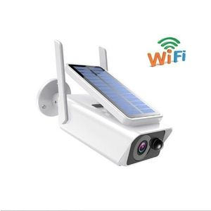 Camera de supraveghere IP Wireless HD cu panou solar imagine