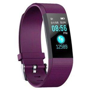 "Bratara Smart Fitness Techstar® ID115 Plus Fitness, 0, 95"""" OLED, BT4.0, Waterproof IP65, Mov imagine"