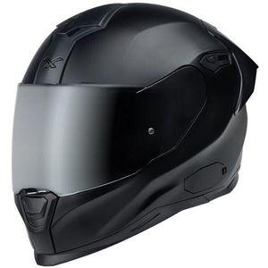 Nexx SX.100R Full Black Negru MT L Casca imagine