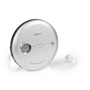 OneConcept CDC 100MP3, discman, cd player portabil, antișoc, esp, microusb, argintiu imagine