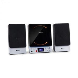 Auna Microstar, microsistem, sistem vertical, CD player, bluetooth, port USB, telecomandă imagine