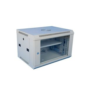 Cabinet rack metalic 19 inch WMF12U-600, geam securizat, greutate sustinuta 60 kg, 12U imagine