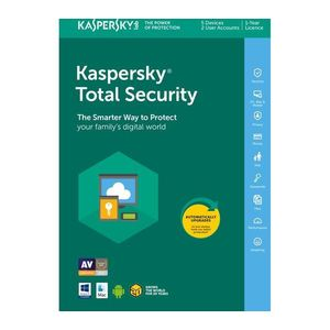 Kaspersky Total Security Licenta Electronica 1 an 1 echipament New imagine